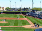 Spring Training in Peoria Sports Complex Following Seattle