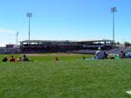 Spring Training in Surprise Stadium Following Kansas City