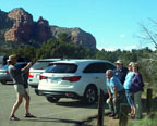 Spring Training Optional Trip to Sedona & Verde Valley - Bell Rock Parking Lot