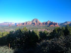 Spring Training Optional Trip to Sedona & Verde Valley - View from Sky Ranch Lodge