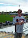 Spring Training at Scottsdale Stadium Following San Francisco