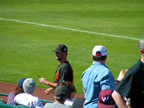 Spring Training Autographs at Scottsdale Stadium Following San Francisco