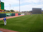 Spring Training at Hohokam Stadium Following Kansas City