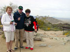 Spring Training Morning Sightseeing at Dobbin's Lookout in South Mountain Park 2