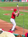 Spring Training in Goodyear Baseball Park