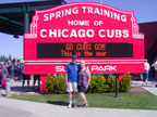 Following the Chicago Cubs to Spring Training at Sloan Park