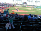 Spring Training - Flat Nat at Goodyear Ballpark