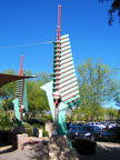 Spring Training Side Trip to Frank Lloyd Wright Spire Park 1