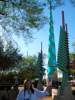 Spring Training Side Trip to Frank Lloyd Wright Spire Park 2