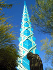 Spring Training Side Trip to Frank Lloyd Wright Spire Park 3