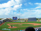 Spring Training - Clouds Over Peoria Sports Complex