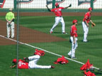 Spring Training Pre Game Stretch 2