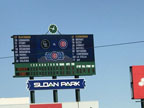 Spring Training Scoreboard at Sloan Park