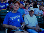 Spring Training Kansas City Fans at Salt River Field 1