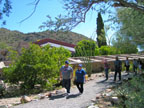Spring Training Sightseeing at Taliesin West 2