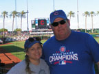 Spring Training Fans in Goodyear Ballpark