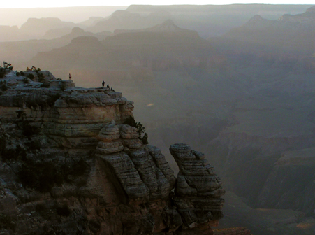 A Twilight View at Grand Canyon