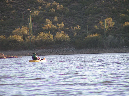 Kayaking the Salt River Lakes in the Superstition Mountains
