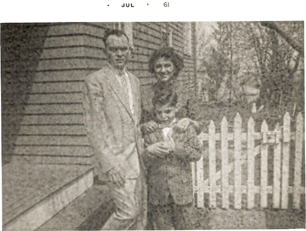 Russell, Anita and Jeffrey Wiles