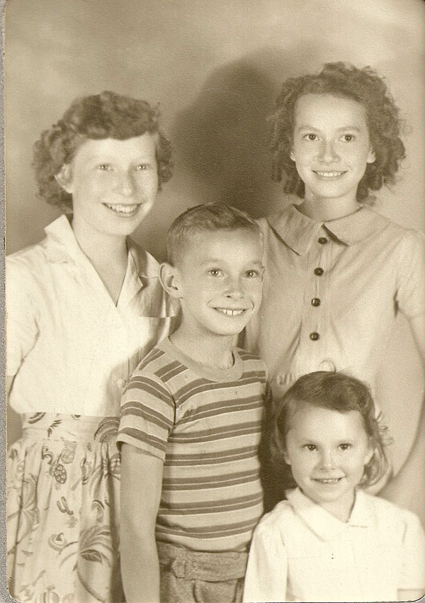 Eleanor, Genevieve, Jimmy Ronald, and Janice Kay Anderson