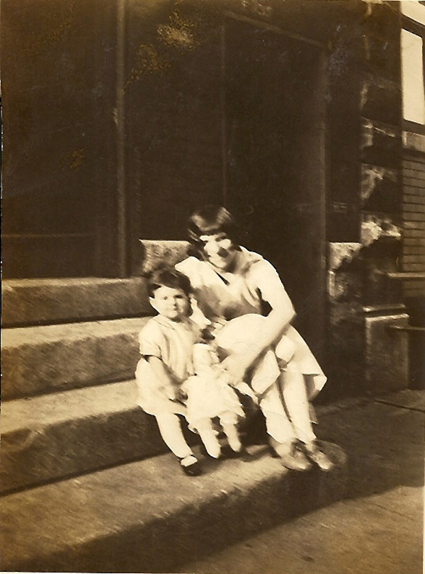 Might be Betty Ierovante with unknown child