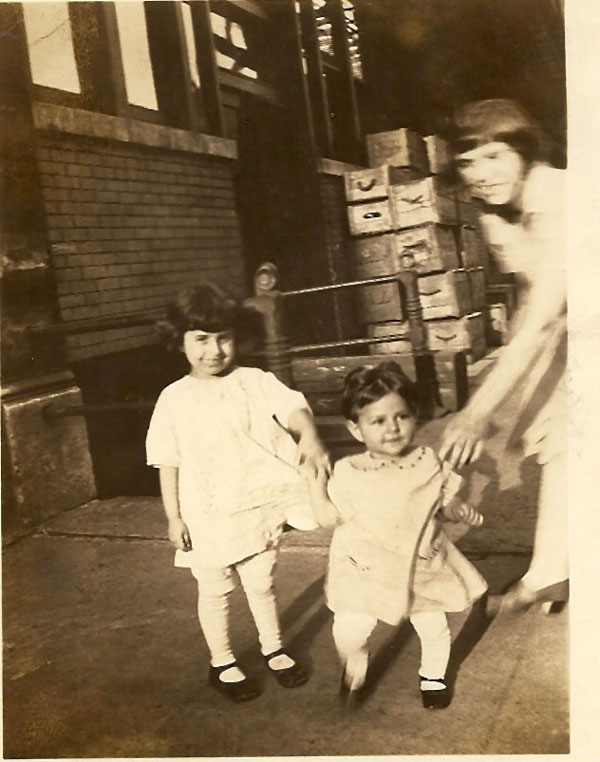 Might be Betty Ierovante with two unknown children