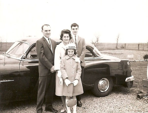 Russell, Anita, Becky and Jeffrey Wiles