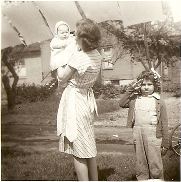 Unknown Baby and Woman and Kathi Common