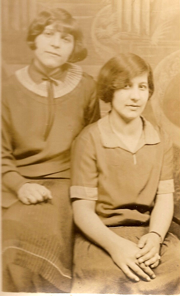 Betty Ierovante and Unknown