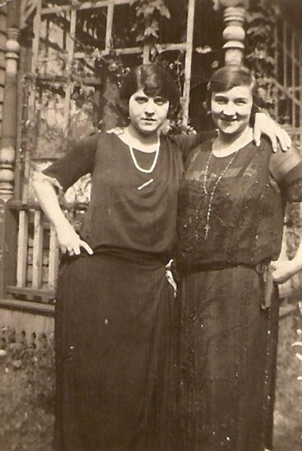 Marie Ierovante/Camodeca and Betty Bernard