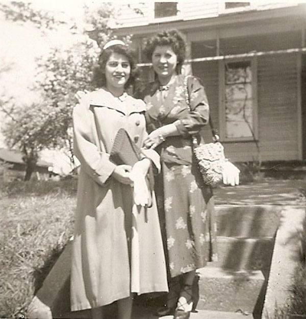 Anita Wiles and Marie Common