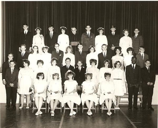 St.Joseph School Eighth Grade Graguation 1966
