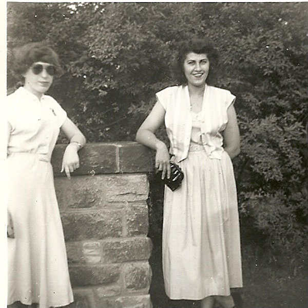 Eleanor Anderson and Anita Wiles