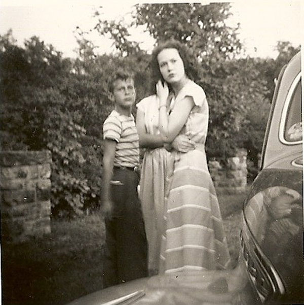 Jimmy Ronald and Genevieve Anderson (rear) Unknown