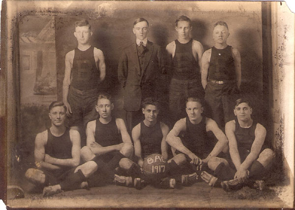 1917 Basketball Team