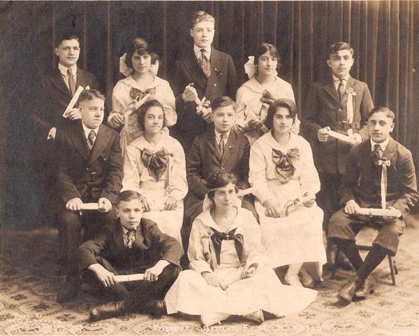 Dante School Feb. Class 1920