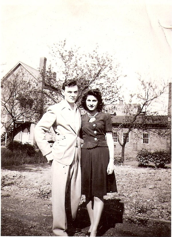 Russell Wiles and Anita Common