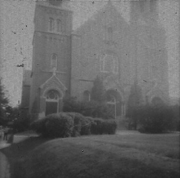 Church at St. Joseph's College and probably Anita and Jeffrey Wiles