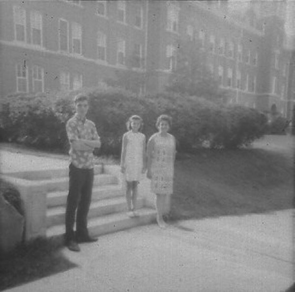 Jeffrey, Becky and Anita Wiles