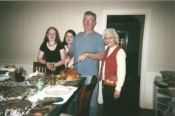 Sarah, Megan & George Croughwell & Anita Wiles