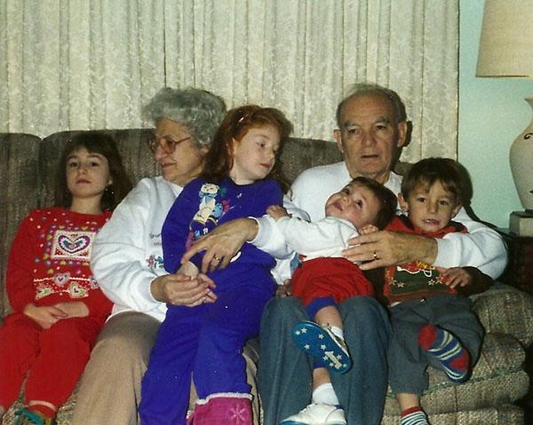 adults- Anita & Russell Wiles, kids- Megan & Sarah Croughwell, Reid & Zane Wiles