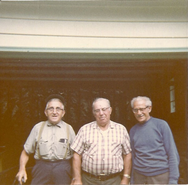 O.K.Myers, Leonard LaNave and Nick Common