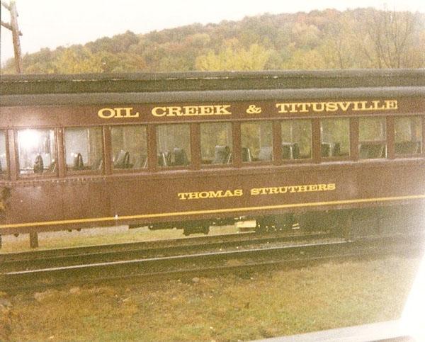 Oil Creek & Titusville Train